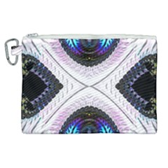 Patterns Fractal Background Digital Canvas Cosmetic Bag (xl)