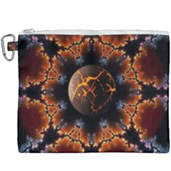 Fractal Space Fantasy Canvas Cosmetic Bag (xxxl)