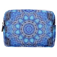 Fractal Mandala Abstract Make Up Pouch (medium) by Wegoenart
