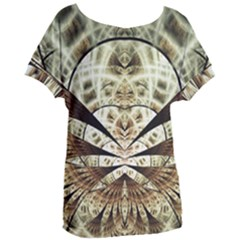 Pattern Nature Desktop Fractals Women s Oversized Tee by Wegoenart