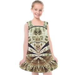 Pattern Nature Desktop Fractals Kids  Cross Back Dress