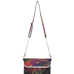 Pattern Background Wallpaper Mini Crossbody Handbag by Wegoenart
