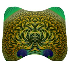Fractal Tree Abstract Fractal Art Velour Head Support Cushion