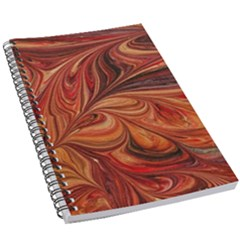 Marbled Paper Mottle Color Movement 5 5  X 8 5  Notebook by Wegoenart