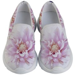 Abstract Transparent Image Flower Kids  Lightweight Slip Ons