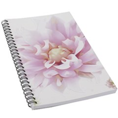 Abstract Transparent Image Flower 5 5  X 8 5  Notebook by Wegoenart