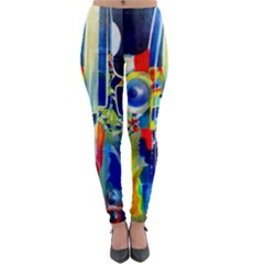 Twilight Bass No  2 Lightweight Velour Leggings