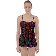 Dance  Of The  Forest 1 Babydoll Tankini Set
