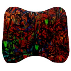 Dance  Of The  Forest 1 Velour Head Support Cushion