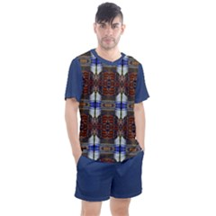 Mythical 015 Men s Mesh Tee And Shorts Set