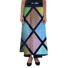 Stained Glass Soul Flared Maxi Skirt