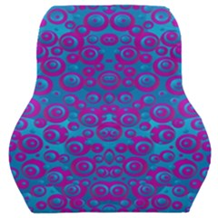 The Eyes Of Freedom In Polka Dot Car Seat Back Cushion  by pepitasart