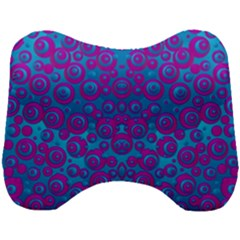 The Eyes Of Freedom In Polka Dot Head Support Cushion