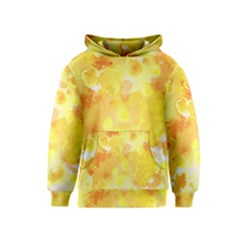 Yellow Party Kids  Pullover Hoodie