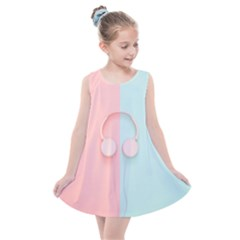 Got My Headphones On     Kids  Summer Dress
