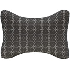 Circle Chic Grey Seat Head Rest Cushion