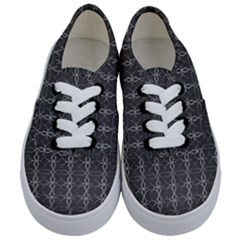 Circle Chic Grey Kids  Classic Low Top Sneakers