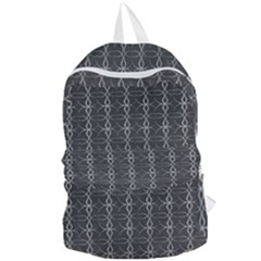Circle Chic Grey Foldable Lightweight Backpack