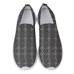 Circle Chic Grey Women s Slip On Sneakers by TimelessFashion