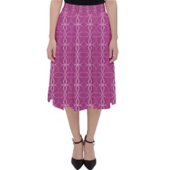 Circle Chic Pink Classic Midi Skirt