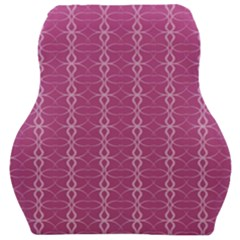 Circle Chic Pink Car Seat Velour Cushion