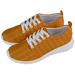 Circle Chic Orange Men s Lightweight Sports Shoes by TimelessFashion