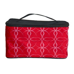 Circle Chic Red Cosmetic Storage