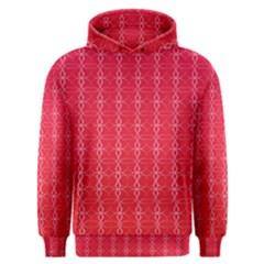 Circle Chic Red Men s Overhead Hoodie