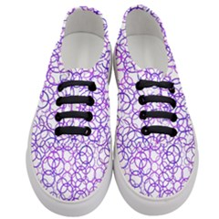 Surounded By Circles Women s Classic Low Top Sneakers