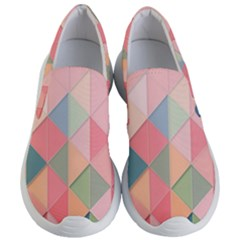2 Triangles Make A Square Women s Lightweight Slip Ons