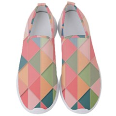 2 Triangles Make A Square Men s Slip On Sneakers by TimelessFashion