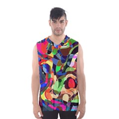 Artistic Chaos Men s Basketball Tank Top