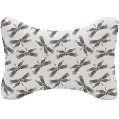 Beautifull Dragonfly Black White Seat Head Rest Cushion