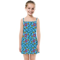 Beautyfull Flowers Kids  Summer Sun Dress