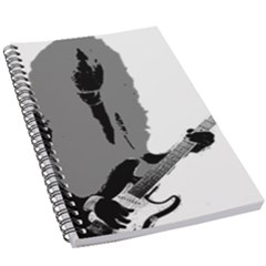 Jake E Lee 5 5  X 8 5  Notebook by StarvinArtisan