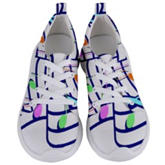 Music Notes Women s Lightweight Sports Shoes