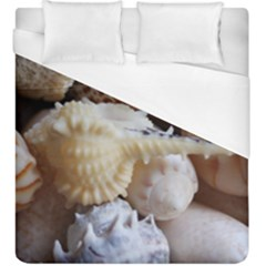 Sea Shells Beach Shells Duvet Cover (king Size)