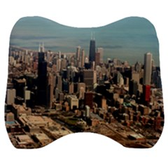 Chicago Skyline Velour Head Support Cushion