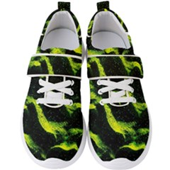Green Northern Lights Men s Velcro Strap Shoes by Costasonlineshop