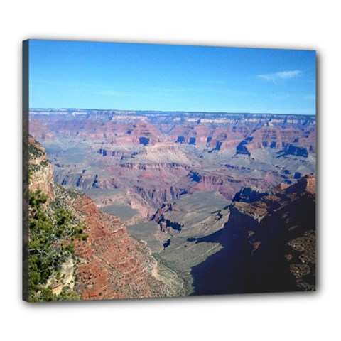 Grand Canyon Arizona United States Canvas 24  X 20  (stretched) by StarvinArtisan