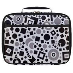 Black Versus Grey Full Print Lunch Bag