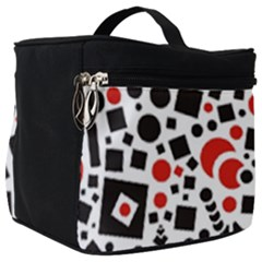 Black Versus Red Make Up Travel Bag (big) by TimelessFashion
