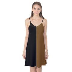 Black Brown Camis Nightgown