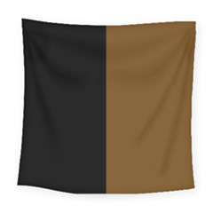 Black Brown Square Tapestry (large) by TimelessDesigns