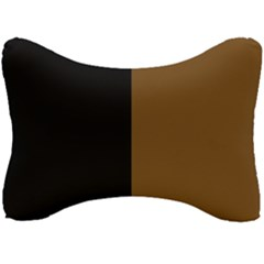 Black Brown Seat Head Rest Cushion by TimelessDesigns