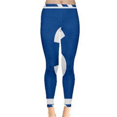 Italy State Highway 38 Inside Out Leggings