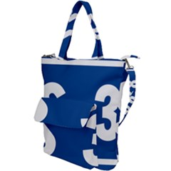 Italy State Highway 38 Shoulder Tote Bag