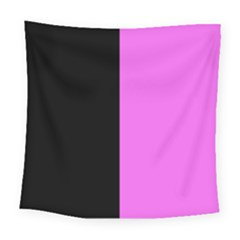 Black Pink Square Tapestry (large) by TimelessDesigns