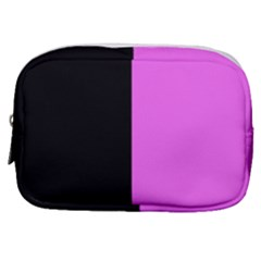 Black Pink Make Up Pouch (small) by TimelessFashion