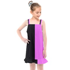 Black Pink Kids  Overall Dress by TimelessFashion
